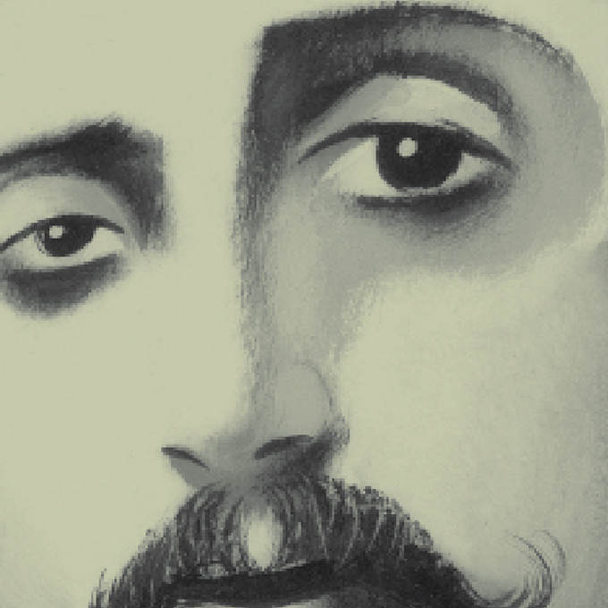 Detail of Marcel Proust Cover illustration
